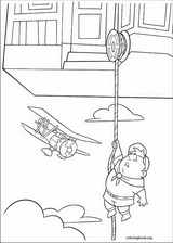 Up coloring page (001)