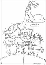 Up coloring page (004)