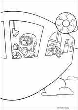 Up coloring page (014)