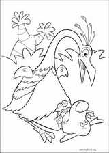 Up coloring page (018)