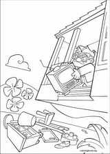 Up coloring page (020)