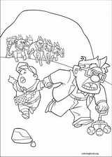 Up coloring page (037)