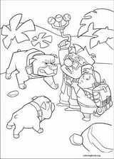 Up coloring page (039)