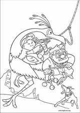Up coloring page (046)