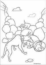 Up coloring page (050)