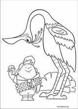 Up coloring page (051)