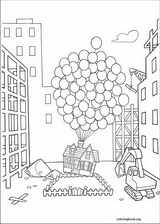 Up coloring page (053)