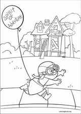 Up coloring page (055)