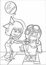 Up coloring page (061)