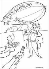 Up coloring page (062)