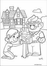Up coloring page (063)