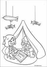 Up coloring page (065)