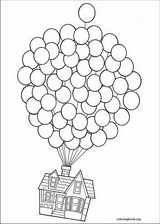 Up coloring page (066)