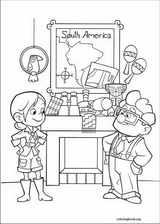 Up coloring page (067)