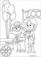 Up coloring page (072)