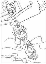 Up coloring page (073)