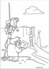 Up coloring page (074)