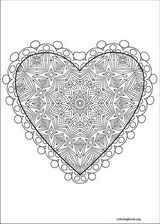 Valentine's Day coloring page (009)
