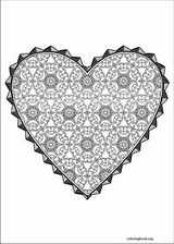 Valentine's Day coloring page (010)