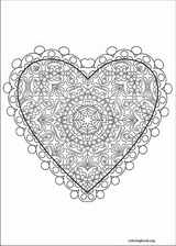 Valentine's Day coloring page (012)