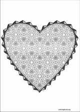 Valentine's Day coloring page (015)