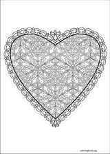 Valentine's Day coloring page (022)