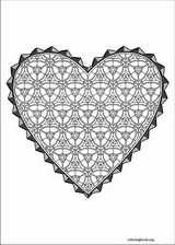 Valentine's Day coloring page (027)