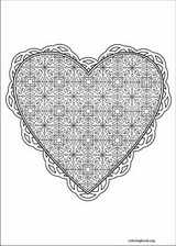 Valentine's Day coloring page (029)