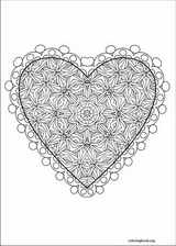 Valentine's Day coloring page (040)