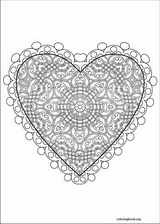 Valentine's Day coloring page (043)