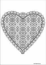 Valentine's Day coloring page (044)