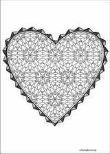 Valentine's Day coloring page (045)