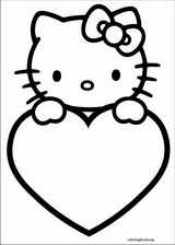 Valentine's Day coloring page (049)