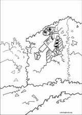wall e coloring pages coloringbookorg