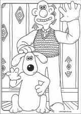 Wallace And Gromit coloring page (001)