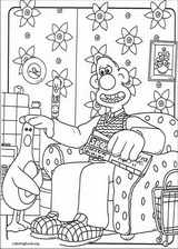 Wallace And Gromit coloring page (008)