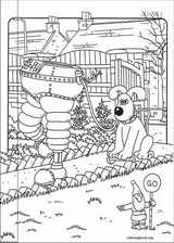 Wallace And Gromit coloring page (013)