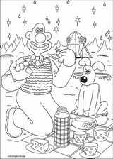 Wallace And Gromit coloring page (016)