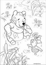 Winnie The Pooh coloring page (002)