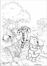 Winnie The Pooh coloring page (005)