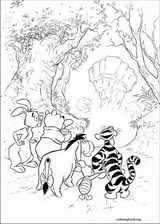Winnie The Pooh coloring page (013)