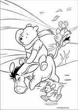 Winnie The Pooh coloring page (015)
