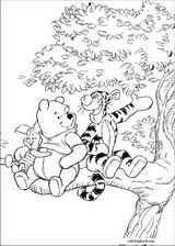 Winnie The Pooh coloring page (019)