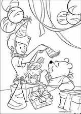 Winnie The Pooh coloring page (021)