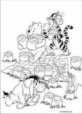 Winnie The Pooh coloring page (022)
