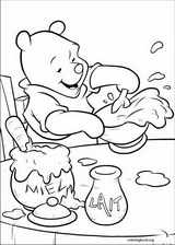 Winnie The Pooh coloring page (032)