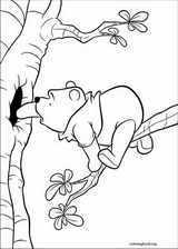 Winnie The Pooh coloring page (034)