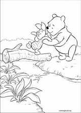 Winnie The Pooh coloring page (056)