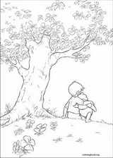 Winnie The Pooh coloring page (063)