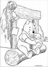 Winnie The Pooh coloring page (074)